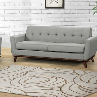 Teterboro Upholstered Sofa Upholstery: Dove Gray