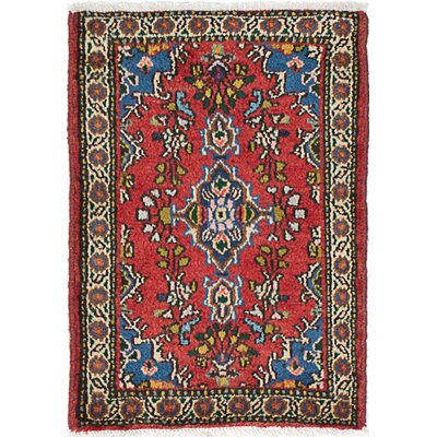 One-of-a-Kind Roth Hand-Knotted Wool Dark Copper Area Rug