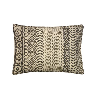 Belmont Cotton Lumbar Pillow Color: Dark Gray