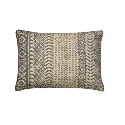 Belmont Cotton Lumbar Pillow Color: Slate Blue