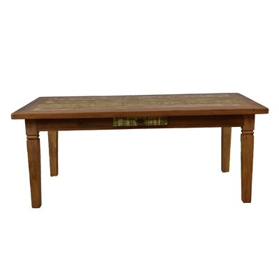 Goulart Dining Table Size: 32 H x 39.5 W x 79 L