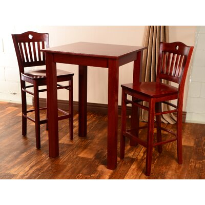 Isaacs 3 Piece Pub Table Set