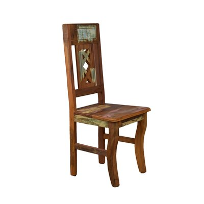 Goulart Solid Wood Dining Chair