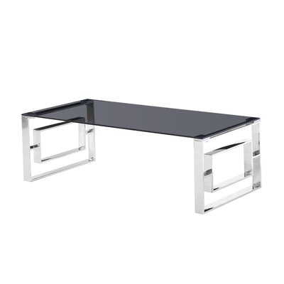Naczi Coffee Table Table Base Color: Silver