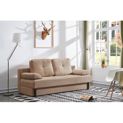 Tolna Contemporary Convertible Sleeper Upholstery: Beige