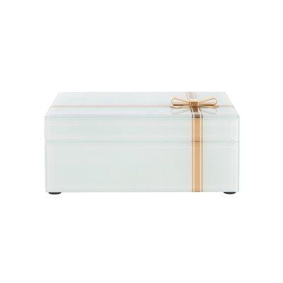 Bow Glass Jewelry Box 819192C8204144FFA6BFB4E0F9504773