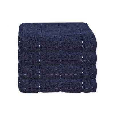 Elkin Check Hand Towel Color: Blue