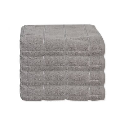 Elkin Check Hand Towel Color: Gray