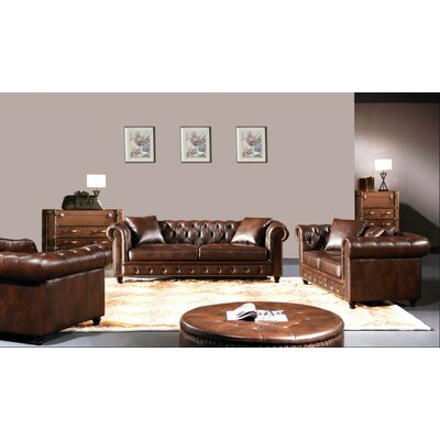 Kellam 3 Piece Living Room Set