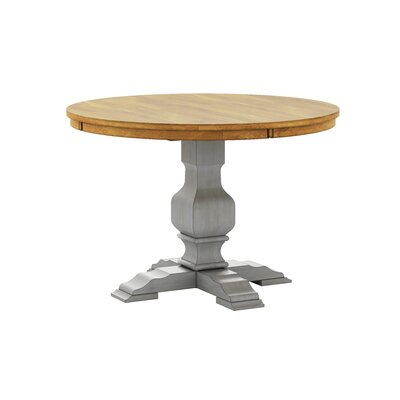 Fortville Dining Table Base Color: Antique Gray