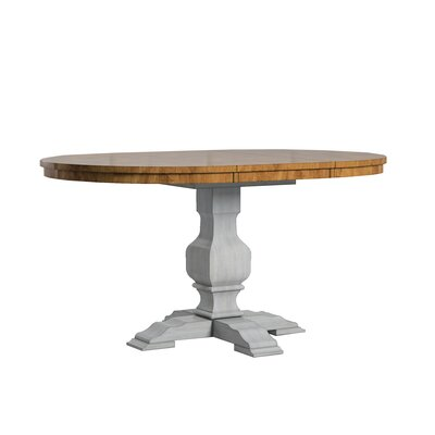 Fortville Extendable Dining Table Base Color: Antique Gray