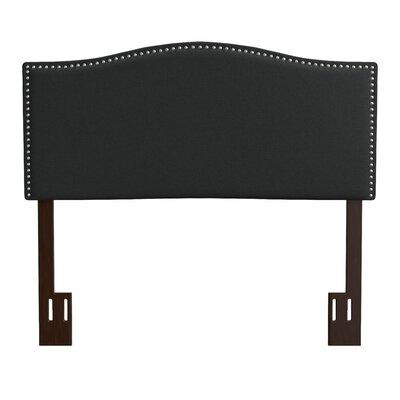 Kerlin Upholstered Panel Headboard Upholstery: Midnight Black