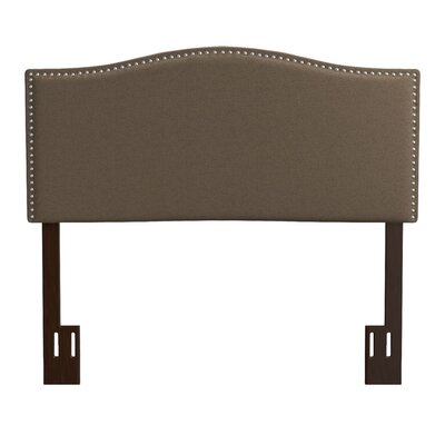 Kerlin Upholstered Panel Headboard Upholstery: Brown