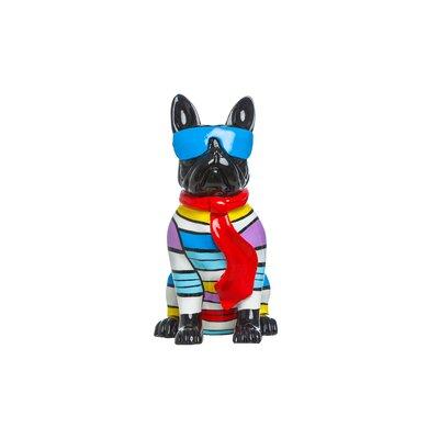 Mcelfresh Plus Stripe Dog with Blue Glasses Figurine 386CE922D54342E2851970B63F719331