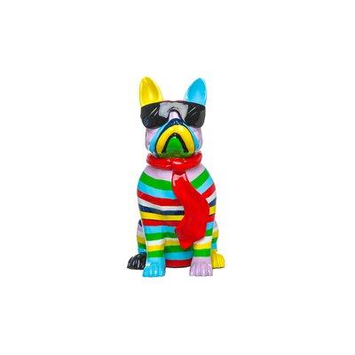 Mcelfresh Plus Stripe Dog with Black Glasses Figurine C877550B71B4429690E575DDAAABD4B6