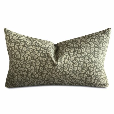 Jasinski Olive Leaf Print Small Rectangular Pillow Cover