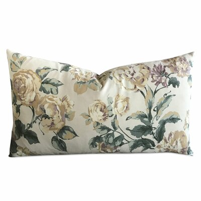 Jarrard Floral Luxury Rectangular Decorative Pillow Cover