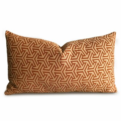 Croll Geometric Luxury Woven Decorative Pillow Cover