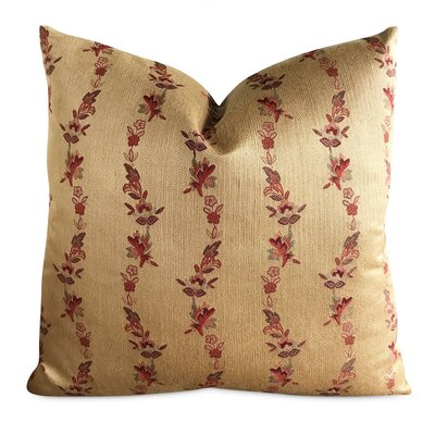 Chadwick English Country Floral Luxury Woven Decorative Pillow Cover