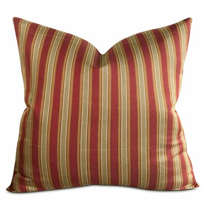 Cespedes Striped Luxury Woven Decorative Pillow Cover
