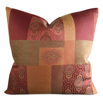 Rucker Sateen Patchwork Luxury Woven Decorative Pillow Cover