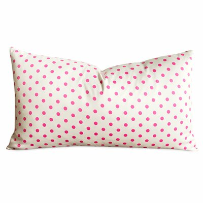 Mobile Polka Dot Decorative Pillow Cover