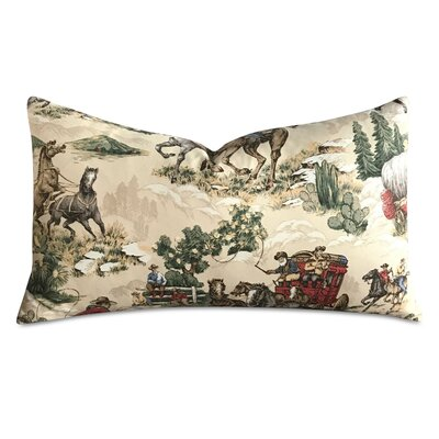 Tarin Novelty Vintage Cowboy Print Decorative Pillow Cover