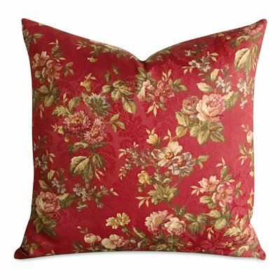 Jarmon Floral Luxury Woven Decorative Pillow Cover