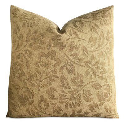 Hannigan Floral Jacquard Luxury Woven Decorative Pillow Cover