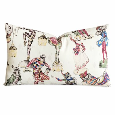 Hannum Vintage Circus Art Decorative Pillow Cover