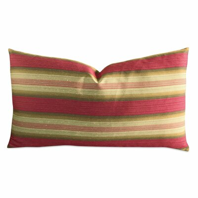 Jasso Garnet Wide Stripe Luxury Woven Decorative Pillow Cover