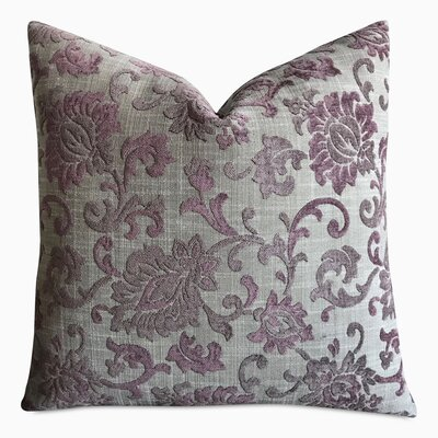 Hannigan Floral Jacquard Luxury Decorative Pillow Cover