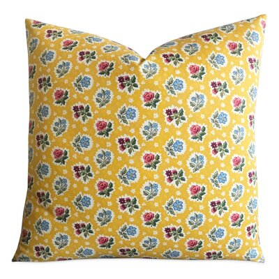 Heiner English Country Floral Decorative Pillow Cover