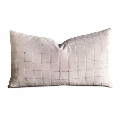 Hallman Pintuck Box Pleated Decorative Pillow Cover