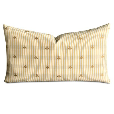 Jefcoat Striped Bumble Bee Decorative Pillow Cover