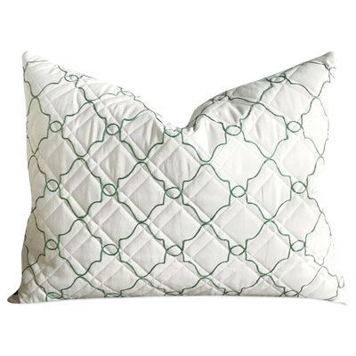 Kennebec Geometric Matelasse Quilted Luxury Sham