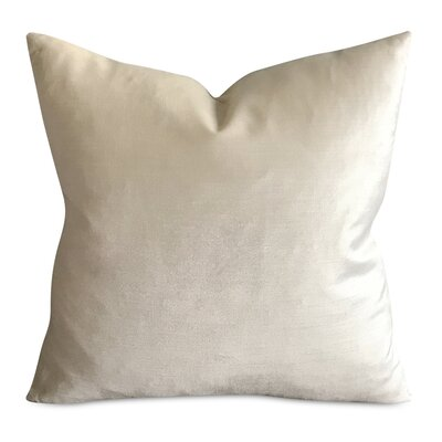 Moses Solid Luxury Decorative Velvet Pillow Cover