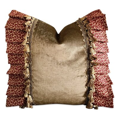 Ruddell Garnet Jacquard Pillow Cover