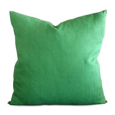 East Rolstone Solid Luxury Canvas Decorative Pillow Cover