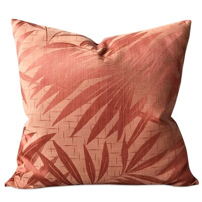 McLellen Tropical Palm Tree Luxury Woven Decorative Pillow Cover