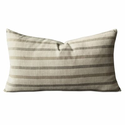 Hambleton Wide Stripe Luxury Decorative Linen Pillow Cover