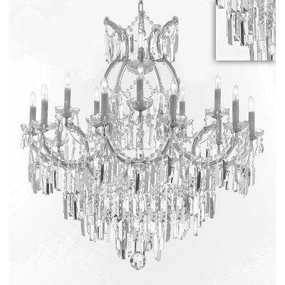 Alvarado 16-Light Candle-Style Chandelier