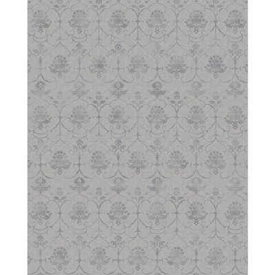Stain Resistant Gray Indoor/Outdoor Area Rug Rug Size: Rectangle 8 W x 10 L