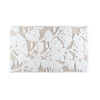 Sainfoin Bath Rug Size: 20 W x 31 L, Color: White