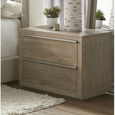 Oscoda�2 Drawer Nightstand