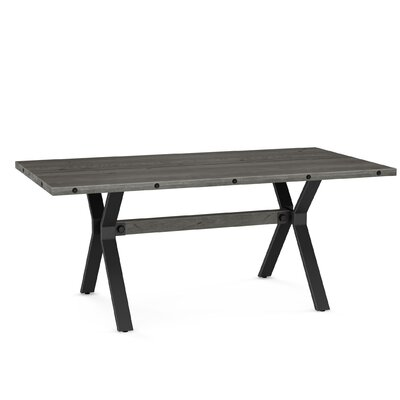 Darcelle Dining Table Top Color: Gray