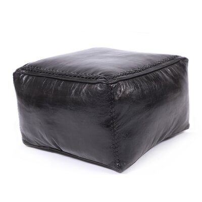 Citadel Leather Pouf