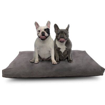 Cr Sleep Pet Bed Memory Foam Pillow with Waterproof Design Size: Large (40 W x 26 D x 2 H)