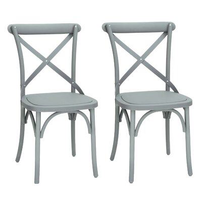 Abdallah Vintage Dining Chair Color: Gray