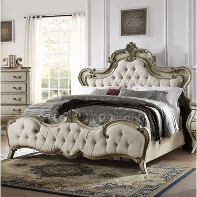 Rhinecliff Upholstered Panel Bed Size: King